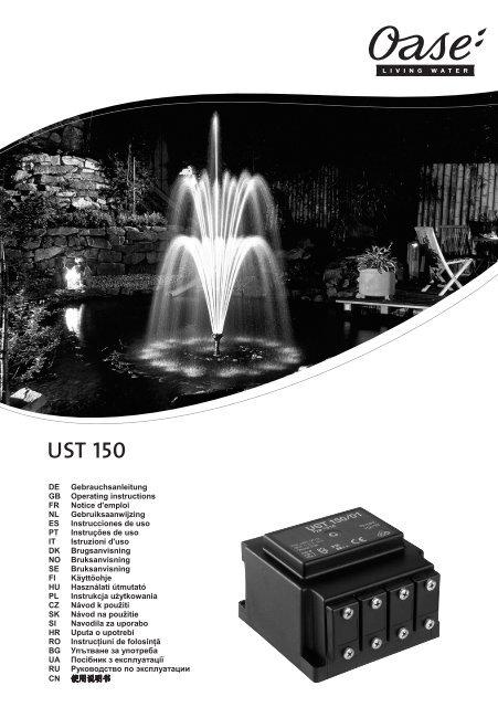 UST 150 - Oase