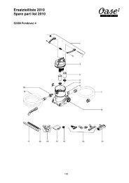 OASE Ersatz-Katalog 2010E