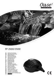 FP 2500/3500 - Oase