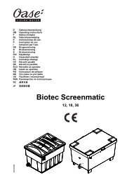 Biotec Screenmatic - Oase