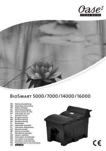 BioSmart 5000/7000/14000/16000 - Oase