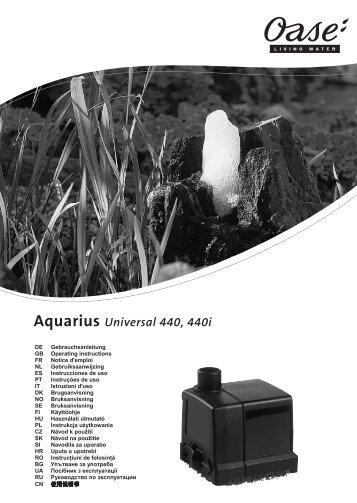 Aquarius Universal 440, 440i - Oase