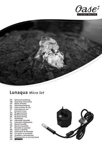 Lunaqua Micro Set - Oase