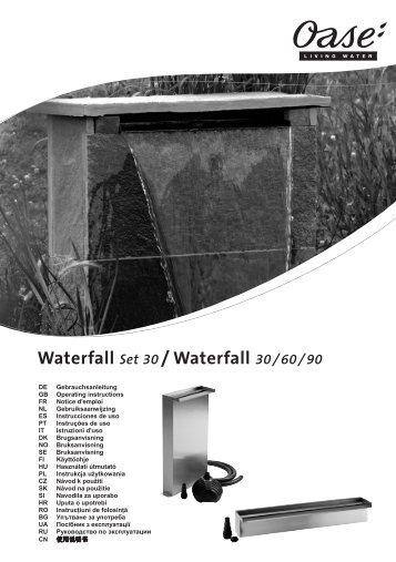 Waterfall Set 30 / Waterfall 30/60/90