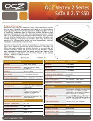 OCZ Vertex 2 Series SATA II 2.5