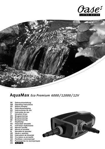 Aquamax Eco Premium 12000/12V - Oase
