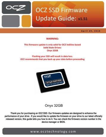 Summit SSD Firmware Update Guide - OCZ