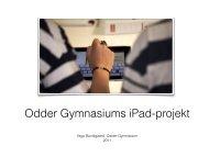 Uddannelsesforum 2011 - Odder Gymnasium