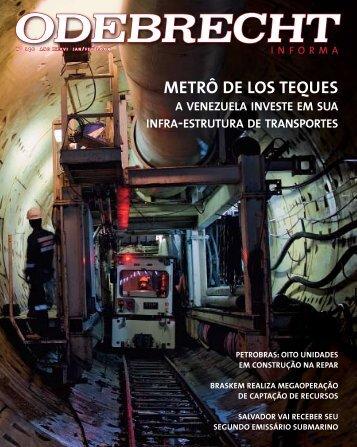 Metrô de Los teques - Odebrecht Informa