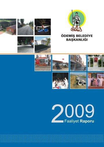 2009 Yılı Faaliyet Raporu - Ödemiş Belediyesi