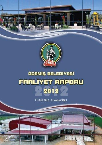 2012 Yılı Faaliyet Raporu - Ödemiş Belediyesi