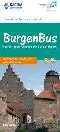 Broschüre und Fahrplan der Freitzlinie BurgenBus (PDF ... - Dadina