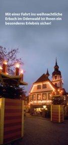 Programm Erbacher Schlossweihnacht - Odenwald - Seite 3