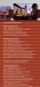 Programm Erbacher Schlossweihnacht - Odenwald - Seite 5
