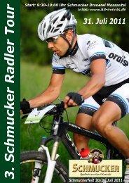 Schmucker Radler Tour - Odenwald