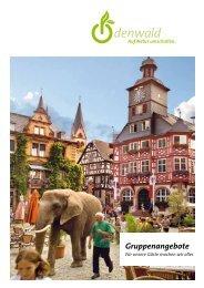 Broschüre Gruppenangebote (pdf) - Odenwald