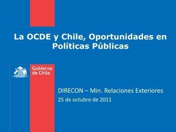 La OCDE y Chile, Oportunidades en Políticas Públicas - Odepa