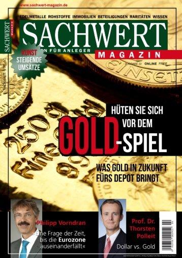 Sachwert Magazin Nr 22