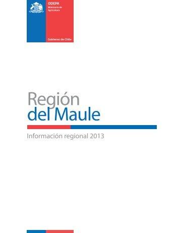 Región del Maule - Odepa
