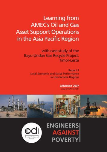 Learning from AMEC's Oil and Gas Asset Support Operations in the ...