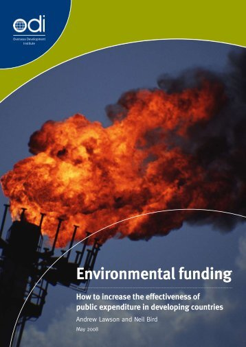 Environmental funding - Overseas Development Institute