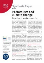 Pastoralism and climate change - Overseas Development Institute