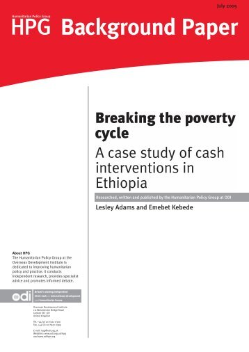 Analysis of Articles about the Poverty Issue - Article Example