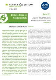 The Green Climate Fund - Climate Finance Fundamentals 11 ...