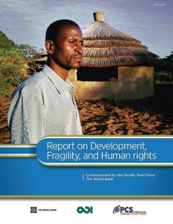Development, fragility and human rights - Overseas Development ...