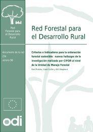 Criterios e Indicadores para la ordenación forestal sostenible ...