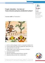 VKA-ODM Newsletter 2011-3 cz - Odmalička - Von klein auf