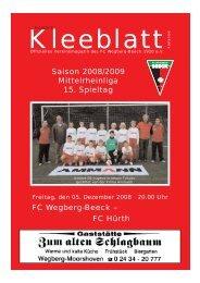 Ausgabe 8.qxd - FC Wegberg-Beeck 1920 e.V.