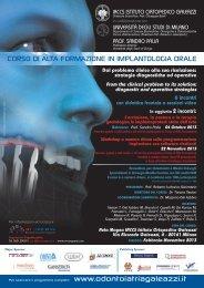 corso di alta formazione in implantologia orale - Odontoiatria ...
