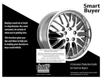 Buying a used car or truck - Oregon Department of Transportation