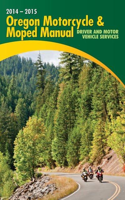 Oregon Motorcycle & Moped Manual 2012 – 2013