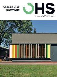 8. – 9. OKTOBER 2011 - Odprte hiše Slovenije