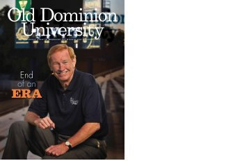 End of an - Old Dominion University