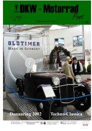 Donauring 2002 Techno-Classica - DKW Geyer Motorradteile