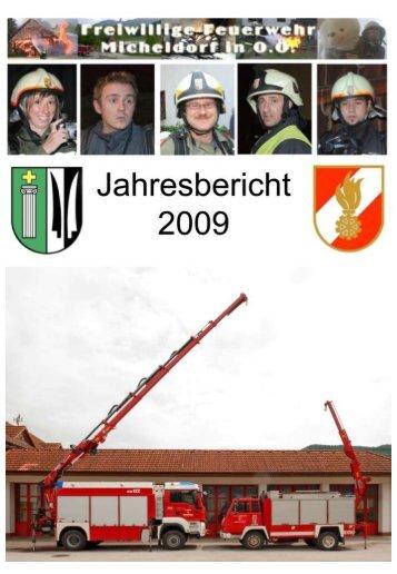 Jahresbericht 2009 - Freiwillige Feuerwehr Micheldorf in OÖ