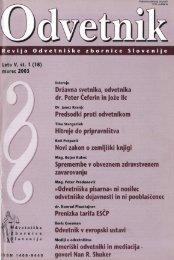 Številka 18 - Odvetniška Zbornica Slovenije