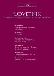 Številka 54 - Odvetniška Zbornica Slovenije