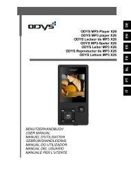DEENES IT FRNLPT ODYS MP3-Player X26 ODYS MP3 player X26 ...