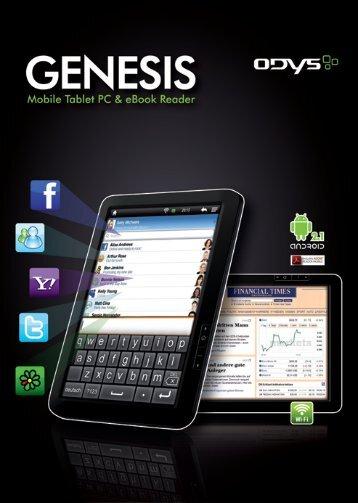 ODYS Genesis -Gebruikershandleiding - Nederlands-V1