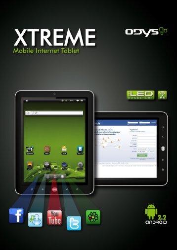 Conozca la tableta ODYS Xtreme