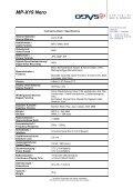 MP-X19 NERO Media Player - Odys - Page 2