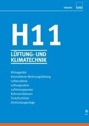 h11 lüftung- und klimatechnik