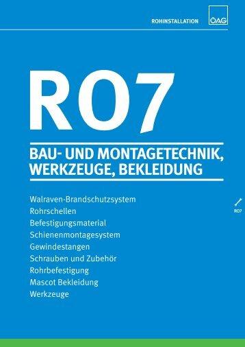 ro7 bau- und montagetechnik, werkzeuge, bekleidung