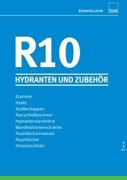 r10 hydranten und zubehör
