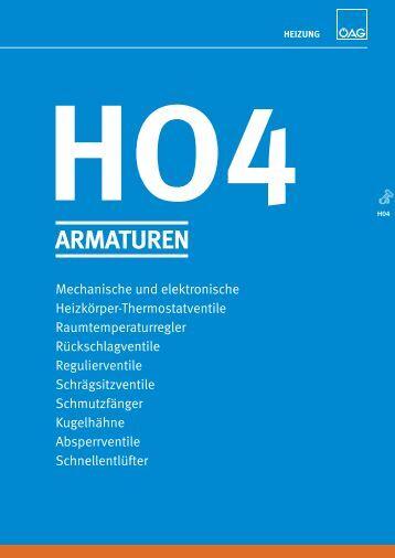 ho4 armaturen