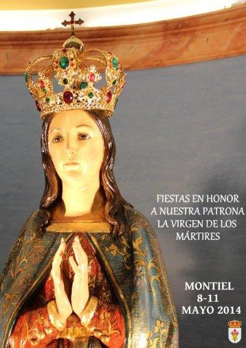 PROGRAMA DE FIESTAS MAYO. MONTIEL 2014